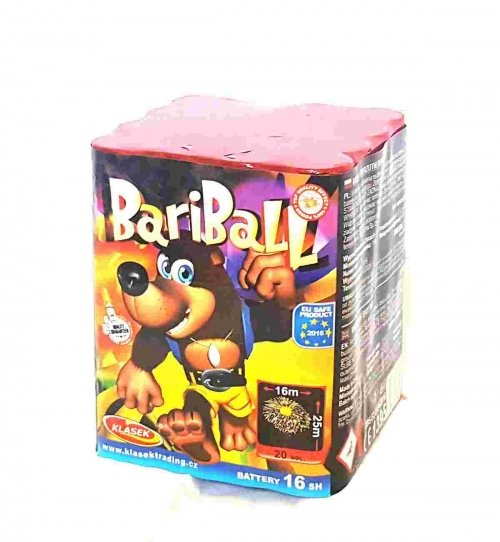 Bariball 16 ran / 20 mm
