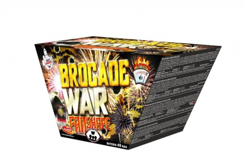 Brocade war  49 ran / 25mm – fan shape