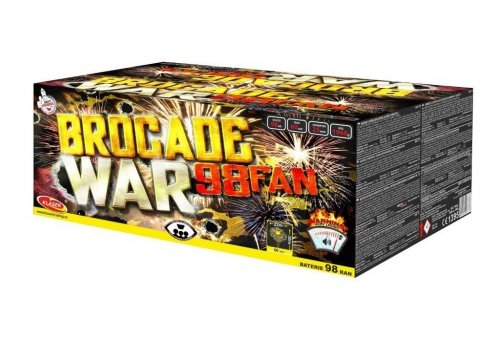 Brocade war 98 ran / 25mm – fan shape